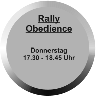 Rally Obedience     Donnerstag 17.30 - 18.45 Uhr
